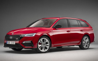 Skoda Octavia RS debuted in liftback and wagon