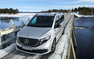 Mercedes-Benz EQV passed frost tests successfully