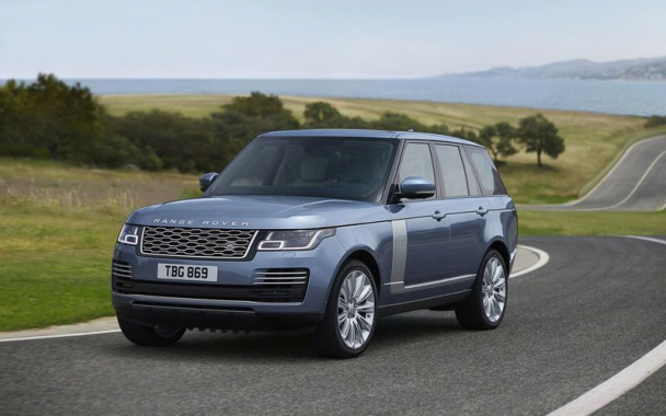 Land Rover will be removed diesel V8 engine