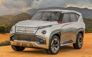 The new Mitsubishi Pajero will have a hybrid installation