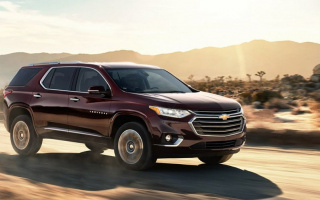 The premiere of new Chevrolet Traverse postponed to 2021