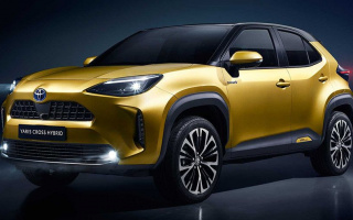 Toyota has presented a new small all-wheel-drive SUV