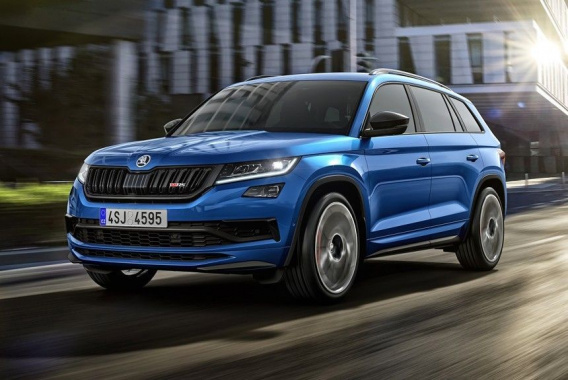 The latest modification of Skoda Kodiaq RS announced