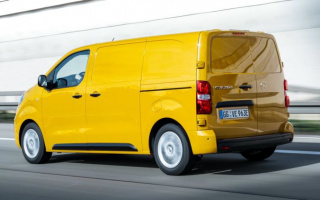 Opel Vivaro-e electric van debuted