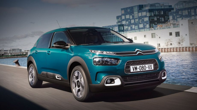 Receiver Citroen C4 Cactus will show in June