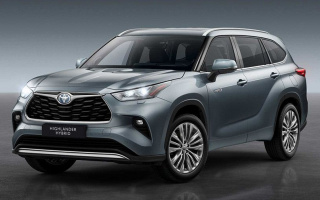 Toyota Highlander of the new generation appeared in all its glory