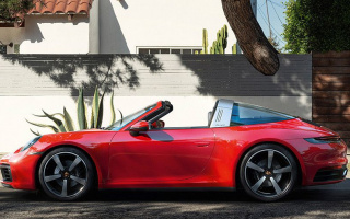 Porsche 911 Targa: a new generation officially debuted
