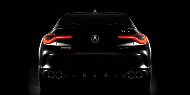 Acura sports sedan announces