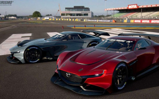 Mazda virtual sports car equipped with a rotary engine (VIDEO)