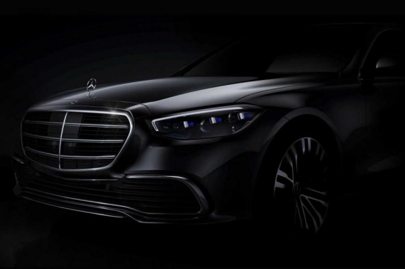 The first photo of the new Mercedes-Benz S-Class