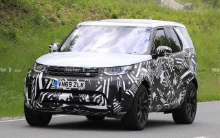 Updated Land Rover Discovery first tests