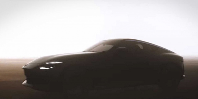 On the video shows the successor to Nissan 370Z