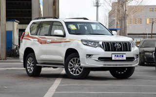 Photo of the new Toyota Land Cruiser Prado released
