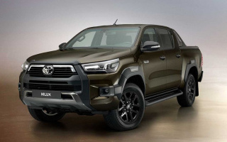 Toyota Hilux updated and debuted