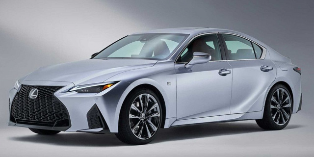 The new generation of Lexus IS debuted