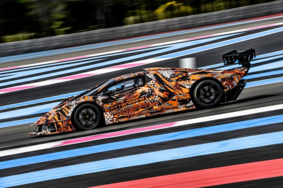 Lamborghini completes hypercar test on track (VIDEO)