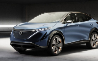 The new Nissan Ariya crossover became global