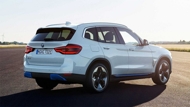 The debut of the first electric BMW iX3 SUV