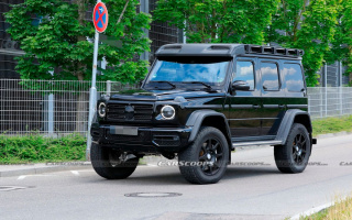 Mercedes began testing the most extreme variant of the latest G-Class