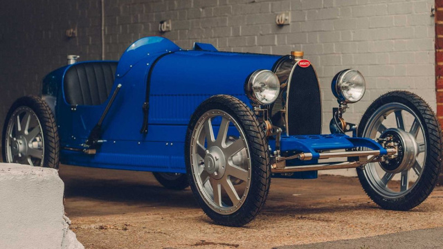Bugatti showed a children's car for 58,500 euros