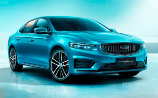 Geely Preface is the first commercial sedan on Volvo base