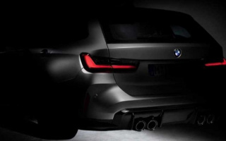 BMW M3 Touring teaser has appeared