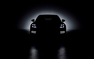 Porsche has published a teaser for the updated Panamera