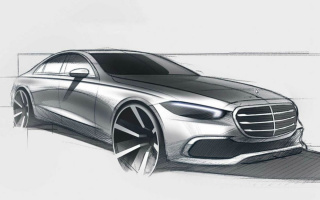 New Mercedes-Benz S-Class completely declassified