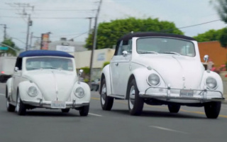 Volkswagen Beetle turned into a giant car (VIDEO)
