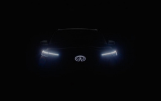 New Infiniti QX60 shown in the first image