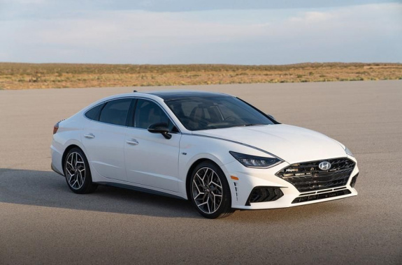 The most powerful Hyundai Sonata surprised with its characteristics