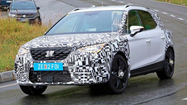Updated Seat Arona goes to tests