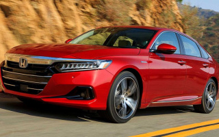 The updated Honda Accord sedan debuted
