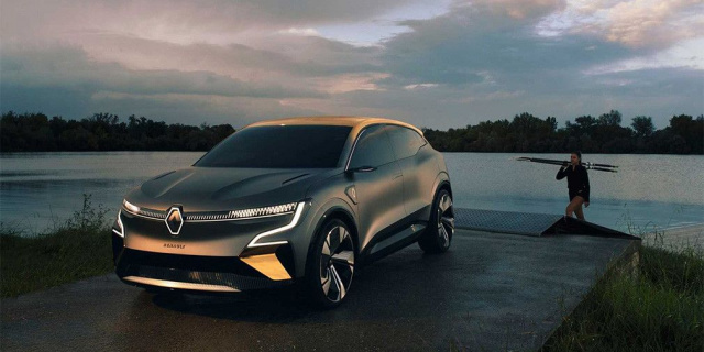 Renault has decided to show the precursor of the newest Megane