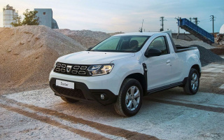 Dacia Duster crossover became a cool all-wheel-drive pickup