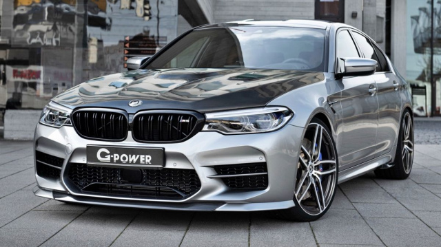 G-Power revealed the BMW M5 version with 900-horsepower