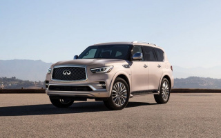 Infiniti QX80 received an updated interior