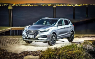 "Nissan Qashqai appeared in the ""night"" version"