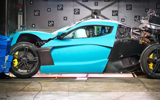 Crash test of two Rimac hypercars cost $4.2 million