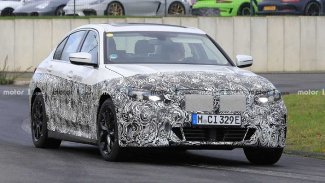 The first tests of the electric BMW 3-Series sedan has begun