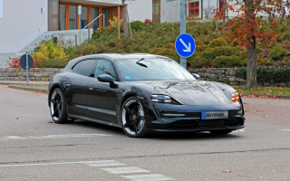 Porsche Taycan Cross Turismo wagon declassified ahead of schedule