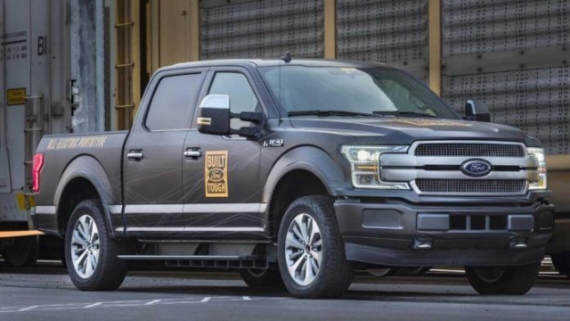 Ford puts more emphasis on electric pickups