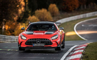 The most potent Mercedes became the absolute record on Nurburgring