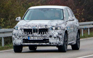 The new BMW X1 PHEV went to tests