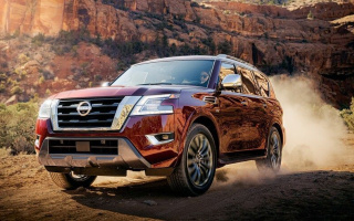 Restyled Nissan Armada debuted
