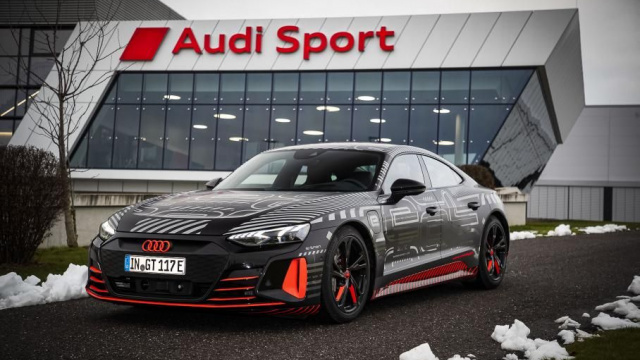 Electric Audi e-Tron GT is already in production