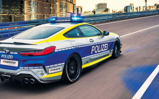 BMW 8-Series Coupe becomes a powerful police supercar