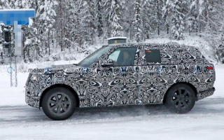 New generation Range Rover tested in Sweden
