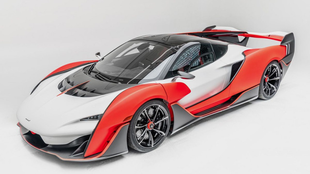 McLaren Sabre is a hypercar with an 835-horsepower setup