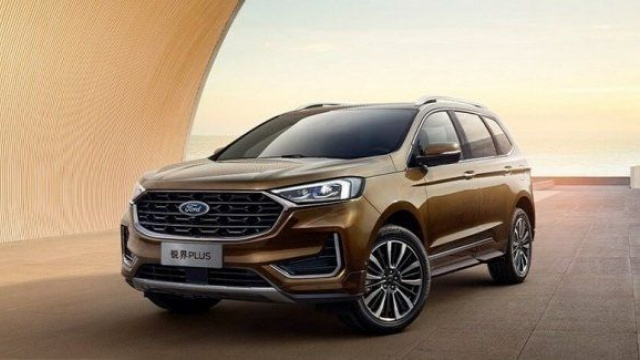 Ford Edge appeared on the Chinese market